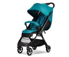 YRSTC Babywagen,Stoßfeste Kinderwagen, Reise Baby-Spaziergänger, leichte Spaziergänger mit Aluminiumrahmen, faltbar Großen Speicher-Korb Kinderwägen (Color : C)