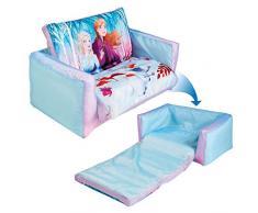 Frozen Aufblasbares Sofa und Liegestuhl für Kinder (2-in-1), Blau