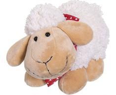 Bieco Plüsch Schaf Polly   Größe ca 33 cm   Baby Kuscheltiere   Baby Spielzeug   Kuscheltier Baby   Baby Einschlafhilfe   Kuscheltiere für Babys   Stofftier Baby Einschlafhilfe   Kuscheltier Schaf