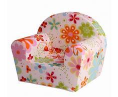 Sun Garden 10093234 Ludger Kindersessel - Blumenfee weiß