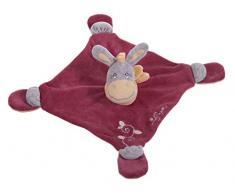 Bieco 02015003 - Schmusetuch Donkey Darling, ca. 30 x 30 x 9 cm