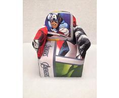 Disney für Kinder Spiele Schlafzimmer Sofa Stühle Stühle für Kids-Over 20 Figuren: – Captain America Avengers von Inspire Häuser