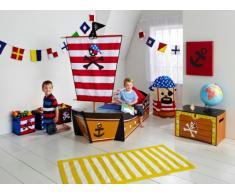 Worlds Apart 452PRT01EM Kinderbett im Piraten-Design