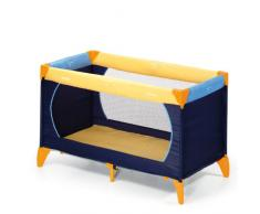 Hauck 604038 Reisebett Dreamn Play 60x120cm, yellow/blue/navy