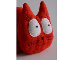 Rote Kuschel Katze mit Aroma