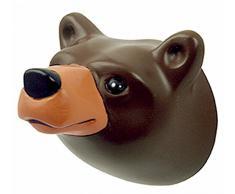 Capventure Brown Bear Wandhaken, Mehrfarbig, 5,5 x 5 x 5,5 cm