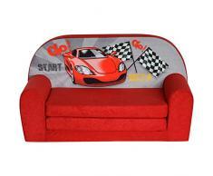 FORTISLINE Kindersofa Mini zum Aufklappen Racing Car W386_02