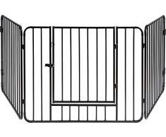 Absperrgitter doppelter Sicherheitsschirm Kinderschutz Schutzgitter f/ür Kinder KALAMI 2.8: Kaminschutzgitter 100/% in Italien hergestellt. Ofenschutzgitter Gezeichnet von Firestyle /®