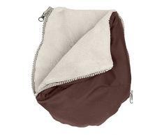 Altabebe AL2801-30 Handmuff-Handschuhe für Kinderwagen, braun