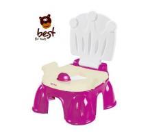 Best For Kids N3494F violett Lerntöpfchen Töpfchen mit Fußbank 2 in 1 Baby Gear Royal Potty