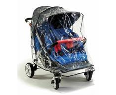 Regenschutz für Buggy 4 Kids ST 4 von Winther / Schutzfolie für Buggy 4-Sitzer
