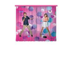 Gardine/Vorhang FCS xl 4304 Kinderzimmer Disney Violetta