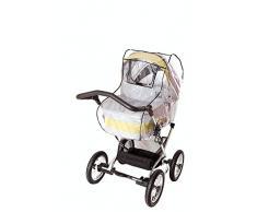 sunnybaby 20095 - Universal Regenverdeck, Regenschutz, COMFORT PLUS für Kinderwagen, Soft-Tragetasche   Kontaktfenster mit sturmfester Schutzklappe für optimale Luftzirkulation   MADE in GERMANY
