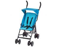 Safety 1st 1115820000 Buggy Flap, leichter Kinderwagen mit Sonnendach, Relax-Position und extra Polsterung (ab 6 Monate bis 15 kg), Donuts Party, blau, 5.8 kg
