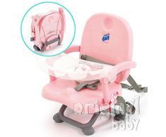 Stuhl Hochstuhl Sitzerhöhung Reise Rosa