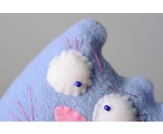 Kuschel Katze mit Aroma aus Fleece