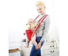 Chytaii. Babytrage Kindertrage Multifunktions-Rückentragen Ergonomische Baby-Vordertragen Verstellbare Rückentragen 3-36 Monate Atmungsaktive Baumwolle Blau