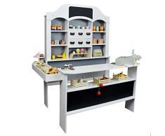 Roba Kaufladen Pepperpot aus Holz - Kinderkaufladen / Kaufmannsladen für Kinder / Marktstand