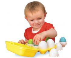 TOMY Babyspielzeug Versteck - und Quieck Eier - hochwertiges Kleinkindspielzeug für Kinder ab 6 Monaten