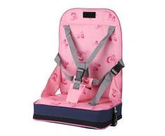 Vine Faltbare Geschirr Säugling Boostersitze Hochstühle Kinder Tragbar Sitzerhöhungen Einstellbar Booster für Reisen
