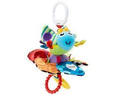 Lamaze Baby Spielzeug Zappelnder Käfer Clip & Go - hochwertiges Kleinkindspielzeug - Greifling Anhänger zur Stärkung der Eltern-Kind-Beziehung - ab 0 Monate