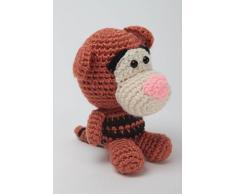 Handmade Hakel Kuscheltier Spielzeug Tiger Geschenkidee fur Kinder kreativ