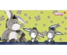 Nici 35526 - Handytäschchen Esel, Plüsch/Polyester, 12 x 8 cm