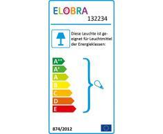 Elobra Kinderlampe Deckenleuchte Hängeleuchte Elefant, Kinderzimmer, Holz, lindgrün, A++