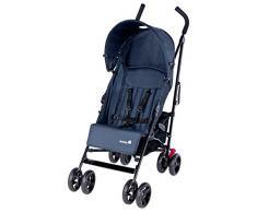 Safety 1st Slim, kompakter Liegebuggy mit Sonnenverdeck, schwarz/blau