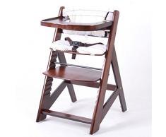 Treppenhochstuhl Babyhochstuhl Kinderhochstuhl Kindertreppenhochstuhl Babystuhl Hochstuhl - BRAUN 6551-D02 C