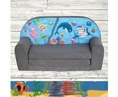 FORTISLINE Kindersofa Mini zum Aufklappen Ocean II W386_11