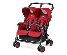 Peg Perego DASTA1MRED Zwillingsbuggy Aria Shopper Twin, mod red