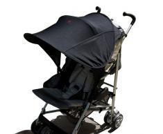 Diono Shade Maker, Universal-Sonnendach für Kinderwagen, Schwarz