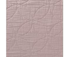 """URBANARA Kissen """"Carvado"""" - 100% reine Baumwolle, Taupe mit floralem Muster – 50 x 50 cm, Dekokissen, Sofakissen, Zierkissen, Kissenhülle"""
