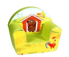 Knorrtoys 68314 - Kindersessel Dog on a farm