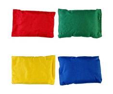 ONLY Sitzsack für Kinder, für Outdoor-Aktivitäten, stylisch, weich, 4 Stück
