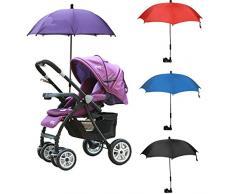 quanjucheer Baby Buggy Accessory Sonnenschirm für Kinderwagen zusammenklappbar