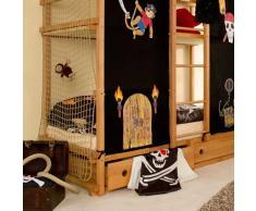 Piratenbett Jackmo für 2 Kinder (5-teilig) Pharao24