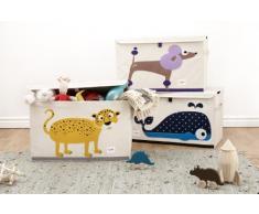 3 sprouts - Spielzeugkiste Leopard