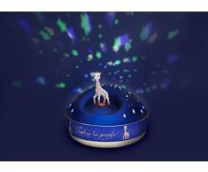 Trousselier - Sophie Die Giraffe - Nachtlicht - ideales Geburtsgeschenk - Sternenprojektor mit Musik - Rotierende Figur - Batterien inklusive