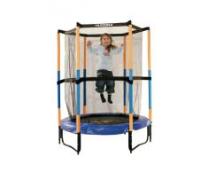 HUDORA Kinder Trampolin Joey Sicherheitstrampolin Jump 3.0, 140 cm, 65596