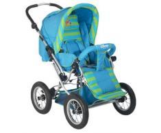 Prokids Disney Baby 401b - Schwenkschieber Kinderwagen mit Tragenest Reverse Farbe Poolicious Blue, Motiv Winnie Pooh