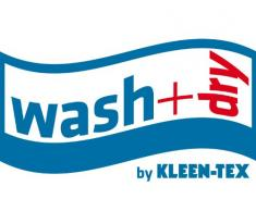 Wash+Dry Fußmatte Taupe, 60x90 cm, innen und außen, waschbar