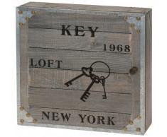 Schlüsselkasten Schlüsselschrank Vintage Nostalgie Retro Antik - New York 1968