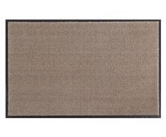 Softfußmatte - Schmutzfangmatte - Fußmatten in Soft und Clean in verschiedenen farben , sowie Größen - Trendfußmatte 2017 (39 x 58 cm, Taube)