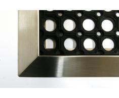 SZ Metall 28128 Fußmatte 90x60 cm + Edelstahlr