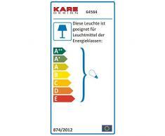 RUNDE DESIGNER STEHLEUCHTE PARIS 120 rund von XTRADEFACTORY Stehlampe Bodenlampe