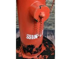 Livitat® Schirmständer 60 x 35 cm Regenschirmständer Hydrant Vintage Blech Metall LV5059