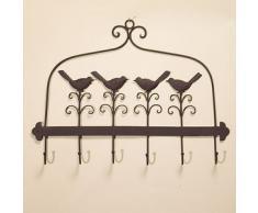 Garderobe Eisen antik