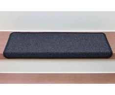 Stufenmatten Monza Rechteckig - versch. Set Varianten & Farben ! (14 Stk. Anthrazit)
